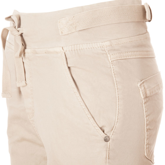 BASIC.de Cotton Stretch-Hose im Jogging-Pant Style MELLY & CO 8139 Beige XS