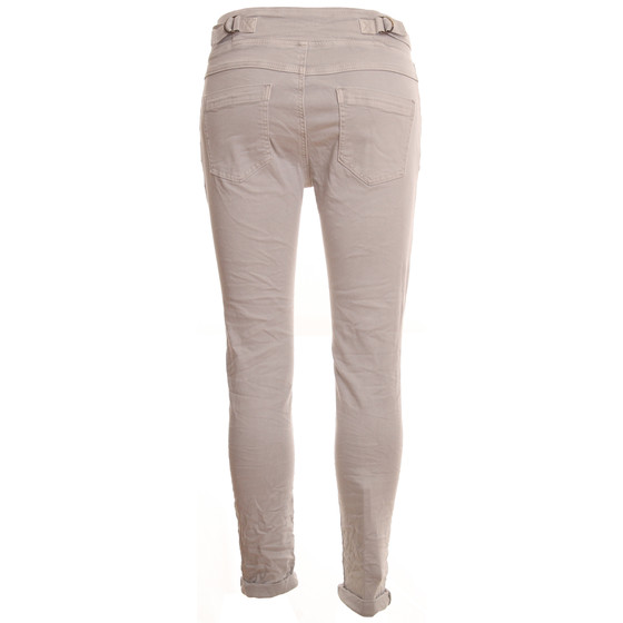 BASIC.de Cotton Stretch-Hose im Jogging-Pant Style MELLY & CO 8139 Hellgrau M