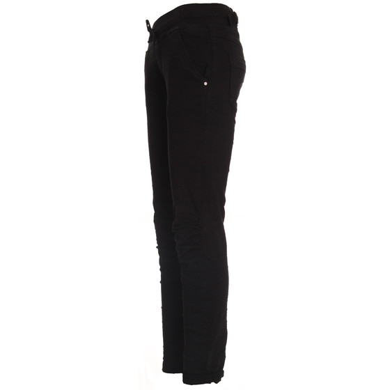 BASIC.de Cotton Stretch-Hose im Jogging-Pant Style MELLY & CO 8139 Schwarz XL
