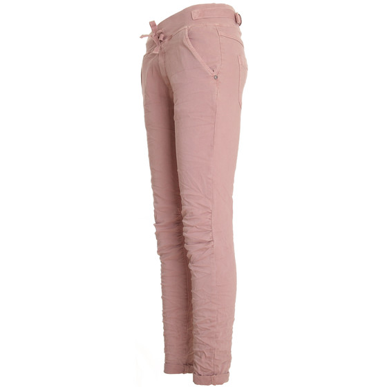 BASIC.de Cotton Stretch-Hose im Jogging-Pant Style MELLY & CO 8139 Rosa S