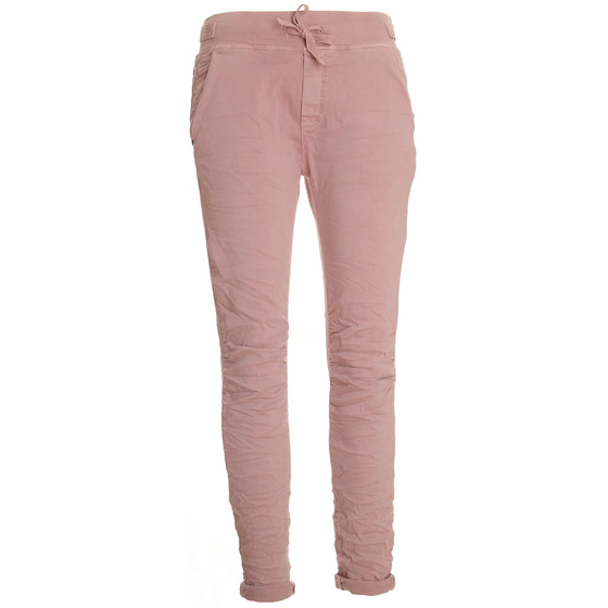 BASIC.de Cotton Stretch-Hose im Jogging-Pant Style MELLY & CO 8139 Rosa XL