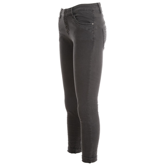 BASIC.de Boyfriend-Hose 5-Knopf Anthrazit XL