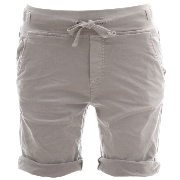 BASIC.de Cotton-Stretch Bermuda-Shorts Hellgrau L