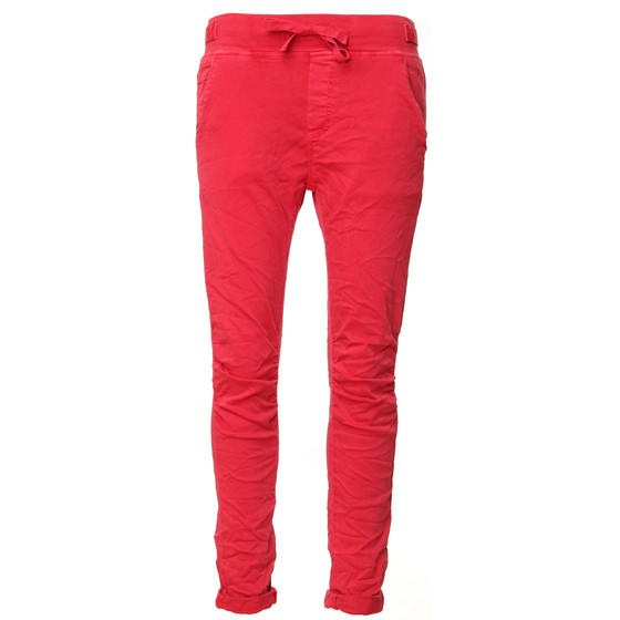 BASIC.de Cotton Stretch-Hose im Jogging-Pant Style MELLY & CO 8139 Melone M