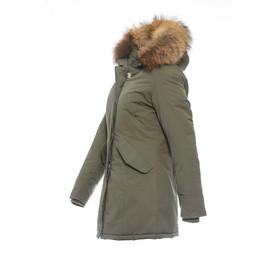 zum halben Preis bestbewertet Original kaufen BASIC.de Damen-Parka Echtfell Winter-Jacke MATOGLA 7895, 149 ...