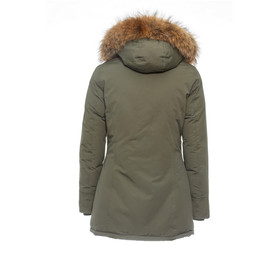 uk availability 29050 26403 BASIC.de Damen-Parka Echtfell Winter-Jacke MATOGLA 7895, 149 ...