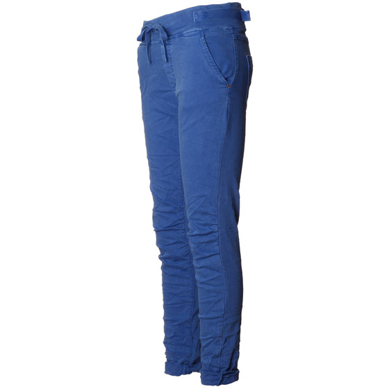 BASIC.de Cotton Stretch-Hose im Jogging-Pant Style MELLY & CO 8139 Blau S