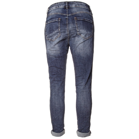 BASIC.de Damen Jeans mit Metallperlen MELLY CO 7088