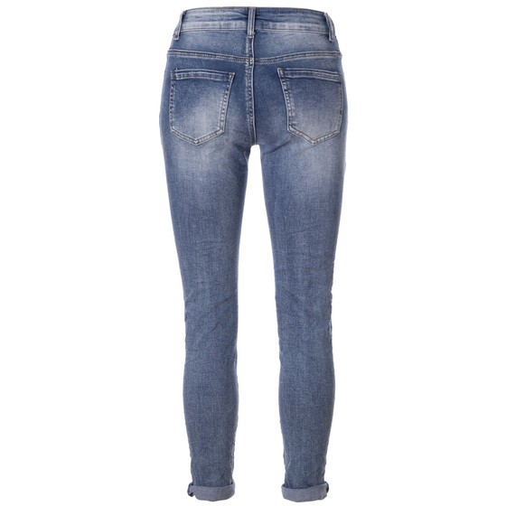 BASIC.de Jeans-Hose Skinny mit 5-Knopfleiste  MELLY & CO 7128 M