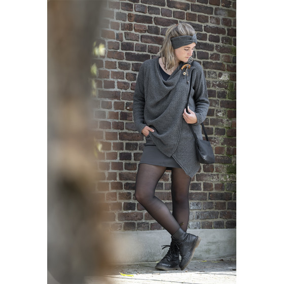 BASIC.de Damen Strickjacke Emy Knit-Factory
